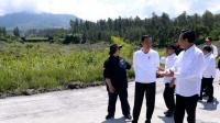 Presiden Jokowi Tinjau Sabo Dam di Kali Putih
