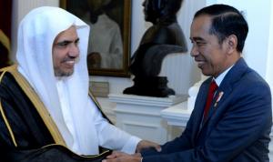 Presiden Jokowi bertemu dengan Sekjen Liga Muslim Dunia