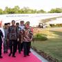 Presiden Jokowi dan Rombongan