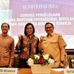 Sinergitas 3 Kementerian Ciptakan Skema baru pendistribusian Dana BOS.