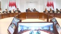 Suasana Rapat Presiden Jokowi Bersama Jajarannya membahas peningkatan indeks daya saing pariwisata