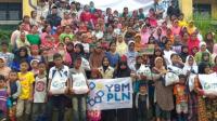 YBM PLN Beritakan Bantuan Banjir ke Sukajaya Bogor