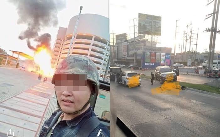Sersan Jakapanth Thomma pelaku penembakan brutal di Thailand.