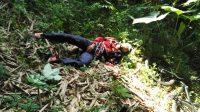 Lokasi jatuhnya korban di di jembatan Dukuh Tagung Cilik, Desa Karanganyar, Kecamatan Tamansari, Boyolali. Sabtu (08/02).