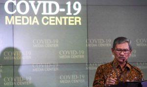 Achmad Yurianto Juru Bicara Pemerintah dalam penanganan Covid 19. (Foto: Antara)