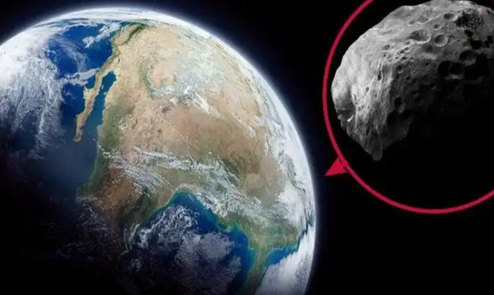 Asteroid Penghancur Bumi mendekat. (Ilustrasi)