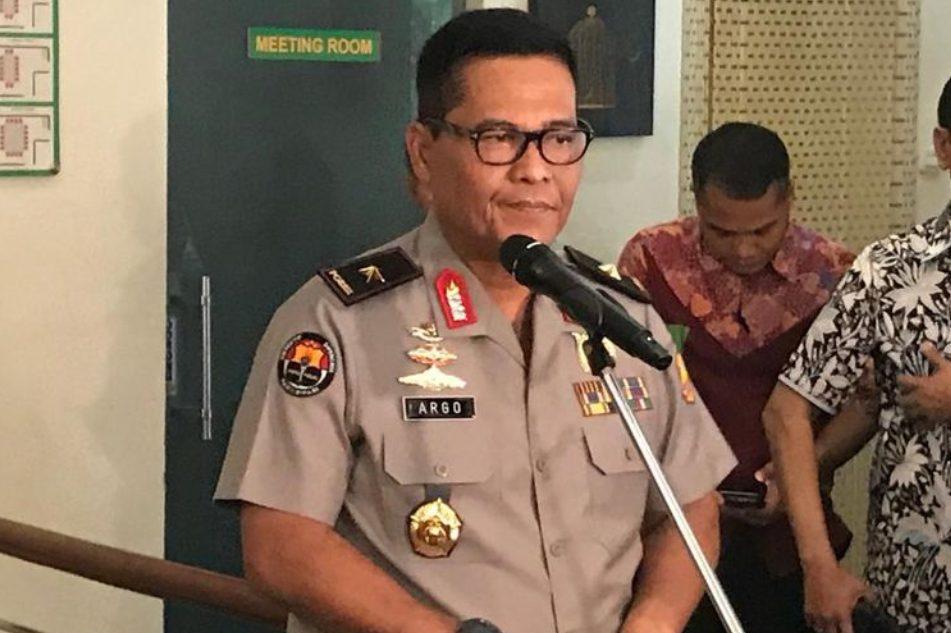 Brigjen Polisi Raden Prabowo Argo Yuwono memberikan keterangan pers. (Foto: Istimewa)