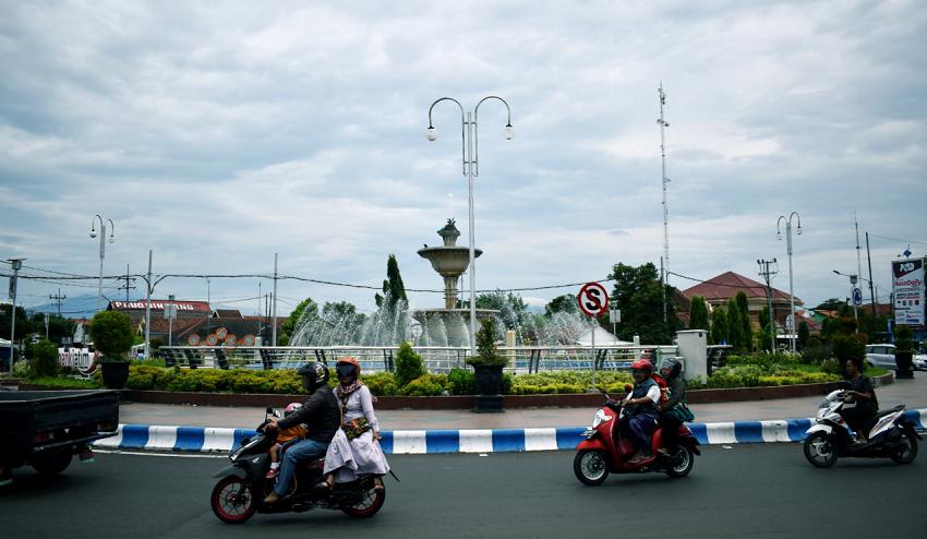 Bunderan Serang Kota Probolinggo Jawa Timur