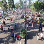 Car Free Day di Bandung akan dikaji ulang kembali terkait virus Corona.