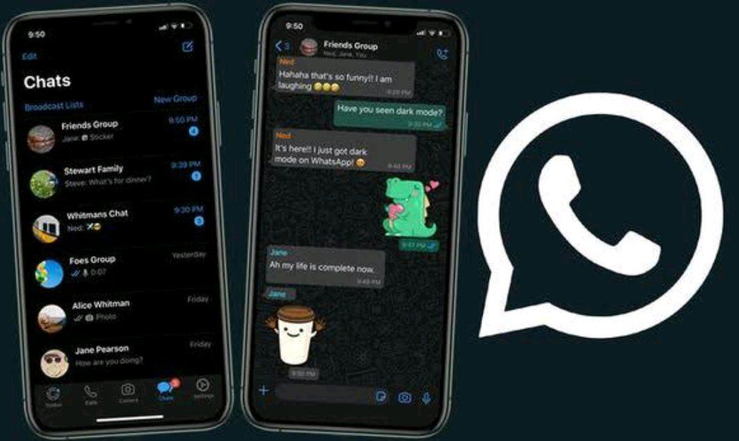Dark Mode kini sudah hadir di WhatsApp.
