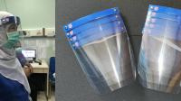 Face Shield yang dibuat Prof Fathul Wahil telah digunakan oleh petugas medis