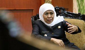 Gubernur Jatim Khofifah keluarkan 6 Sikap terhadap penanganan virus Covid 19.