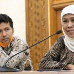 Gubernur Jatim Khofifah dan Wakil Gubernur Jatim Emil Dardak. (Foto: Humas Jatim)