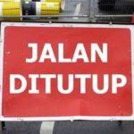 Ilustrasi Beberapa Ruas Jalan ditutup di Medan.