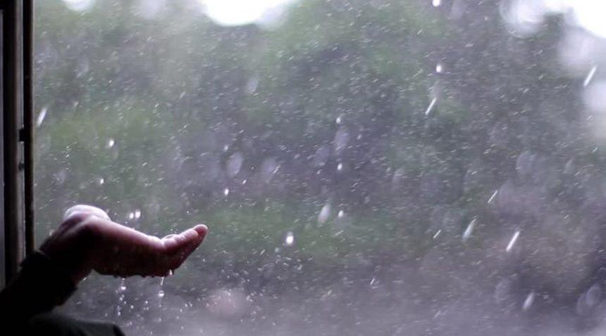 Ilustrasi Hujan Lokal.