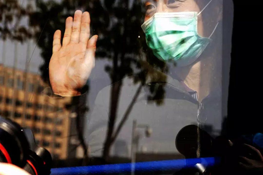 Ilustrasi, Pasien Corona yang sembuh. (Foto: Xinhua)