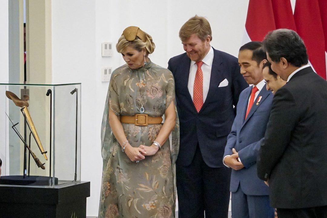 Jokowi menerima kunjungan Raja Willem-Alexander & Y.M Ratu Maxima, di Istana Kepresidenan Bogor.