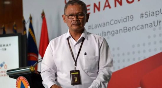 Juru Bicara Pemerintah Indonesia terkait penanganan virus Corona. (Foto: Antara)