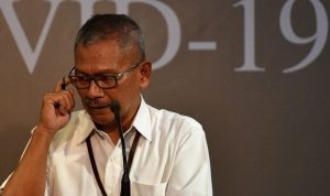 Juru bicara pemerintah untuk penanganan COVID-19 Achmad Yurianto. (Foto: Antara)