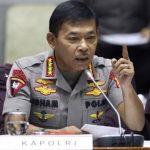 Kapolri Jenderal Polisi Idham Azis menerbitkan telegram untuk memerintahkan jajaranya melakukan penyemprotan disinfektan untuk mencegah corona.