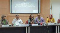 Konferensi pers RSUP Persahabatan. (Foto: Antara)
