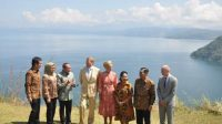 Kunjungan Raja Belanda ke Sumatera Utara.