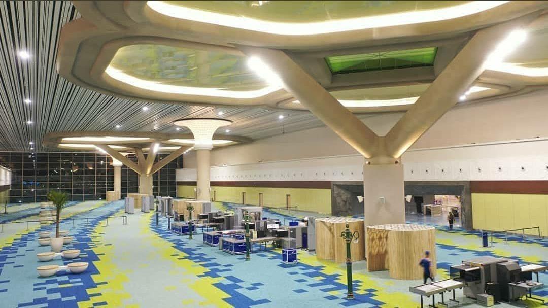 Luas bangunan YIA sangat mendukung untuk melakukan Physical Distancing dibandingkan saat di Bandara Adi Sutjipto. (Foto: BandaraYogyakarta)