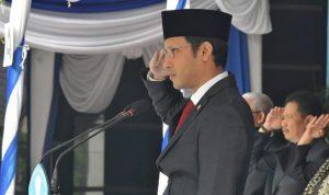 Mendikbud Nadiem Makarim memberikan himbauan kepada masyarakat Indonesia untuk berdiam diri dirumah.