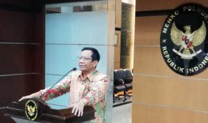 Menteri Koordinator Bidang Politik, Hukum, dan Keamanan Mahfud MD