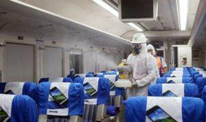 PT KAI (Persero) bentuk satgas untuk pencegahan virus Corona. (Foto: Headline.co.id)