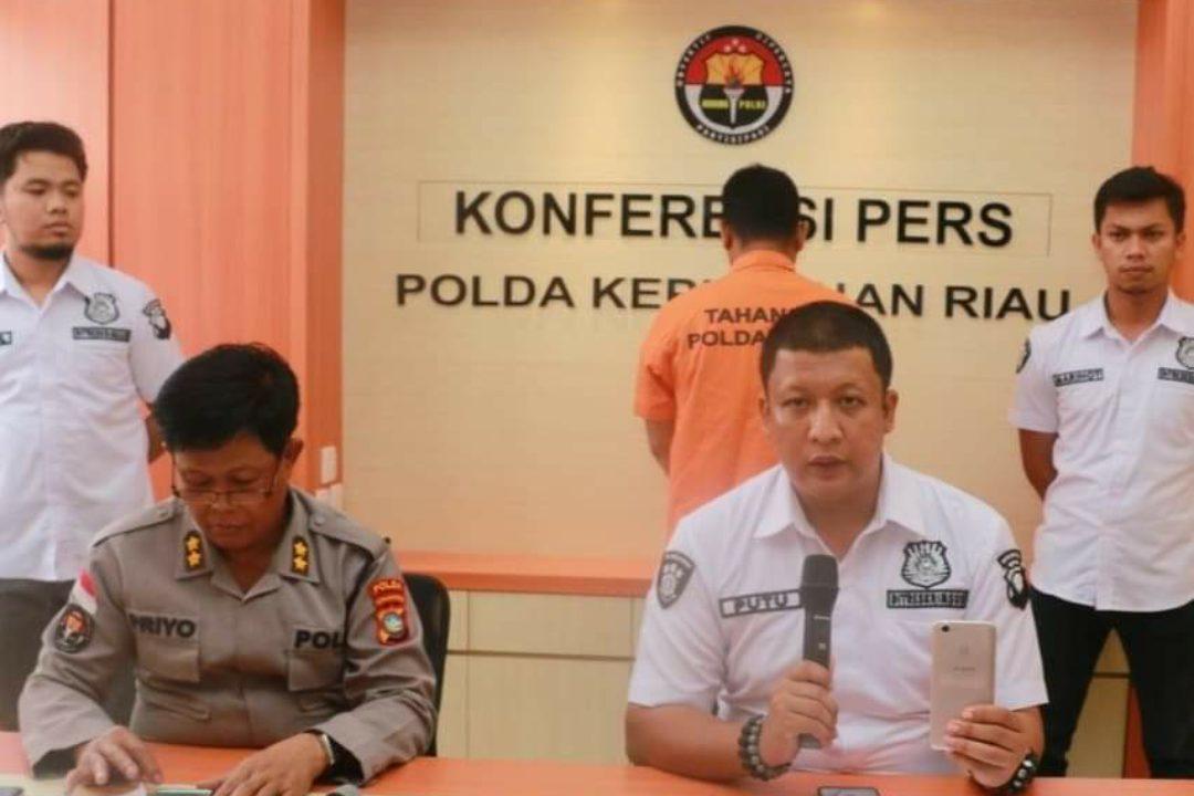 Pelaku berinisial H ditangkap Polda Kepri usai menyebarkan hoaks virus Corona.