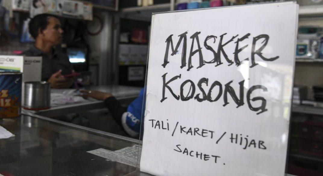 Penimbunan masker merugikan berbagai pihak khususnya masyarakat luas yang sedang berkebutuhan.
