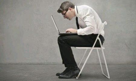 Posisi duduk yang salah timbulkan berbagai keluhan.