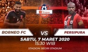 Prediksi Kemenangan Borneo FC Vs Persipura Jayapura Pekan Kedua Liga 1 2020