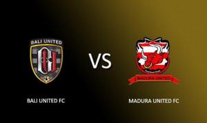 Prediksi laga Bali United Vs Madura United