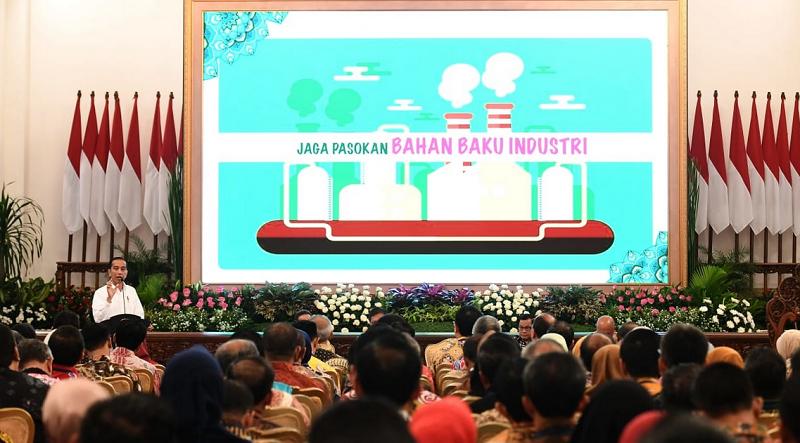 Presiden Minta Jajarannya Fokus Mitigasi Dampak Korona dan Pelemahan Ekonomi Global