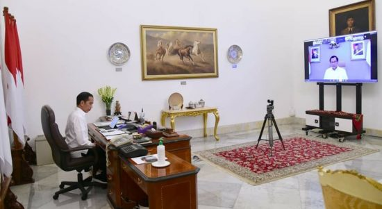 Rencananya Malam Nanti, Presiden Jokowi akan mengikuti KTT G20 secara virtual di Istana Negara. (Foto: Headlien.co.id)