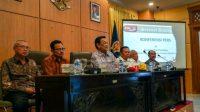 Sri Sultan Hamengkubuwono X menyampaikan keterangan pers terkait situasi dan himbauan kepada masyarakat DIY.