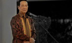 Sultan Hamengkubuwono X memberikan arahan kepada masyarakat Yogyakarta. (Foto: Humas Pemda DIY)
