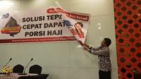 Tim Kemenag DIY bersama Polda DIY menghentikan kegiatan seminar berkedok pendaftaran haji murah