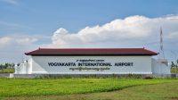 Yogyakarta International Airport resmi beroperasi hari ini, seluruh penerbangan komersil dari Bandara Adi Sutjipto pindah ke YIA. (Foto: @Kangubibakar94)