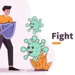 ilustrasi Virus Corona Jakarta Barat