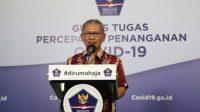 Achmad Yurianto Jubir Penanganan Virus Corona di Indonesia.