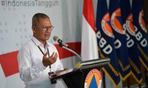 Achmad Yurianto Juru Bicara Pemerintah untuk Penanganan Covid-19 saat memberikan keterangan pers. (Foto: Antara)