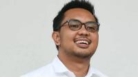 CEO Amartha Andi Taufan Garuda Putra saat diperkenalkan sebagai staf khusus Presiden Joko Widodo