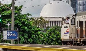 DKI Jakarta telah memberlakukan PSBB, Perjalanan KA Dibatasi (Foto: Reverangel)