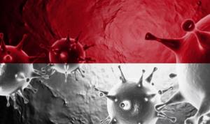 Ilustrasi virus corona di Klaten