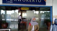 KAI wajibkan penumpang gunakan masker saar di stasiun dan kereta