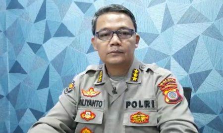 Kabid Humas Polda DIY Kombes Pol Yuliyanto saat memberikan keterangan pers via teleconfrence.