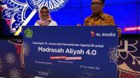 Kemenag dan XL Axiata kembali bekerjasama gelae Akademi Madrasah Digital 2020. (Foto: Selular.id)